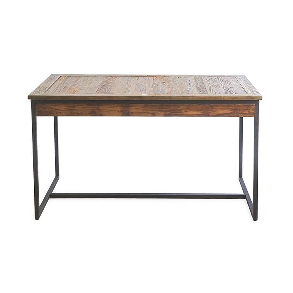 Riviera Maison Shelter Island Dining Table Reclaimed Elm Iron For Well Liked Reclaimed Elm Iron Coffee Tables (View 2 of 20)