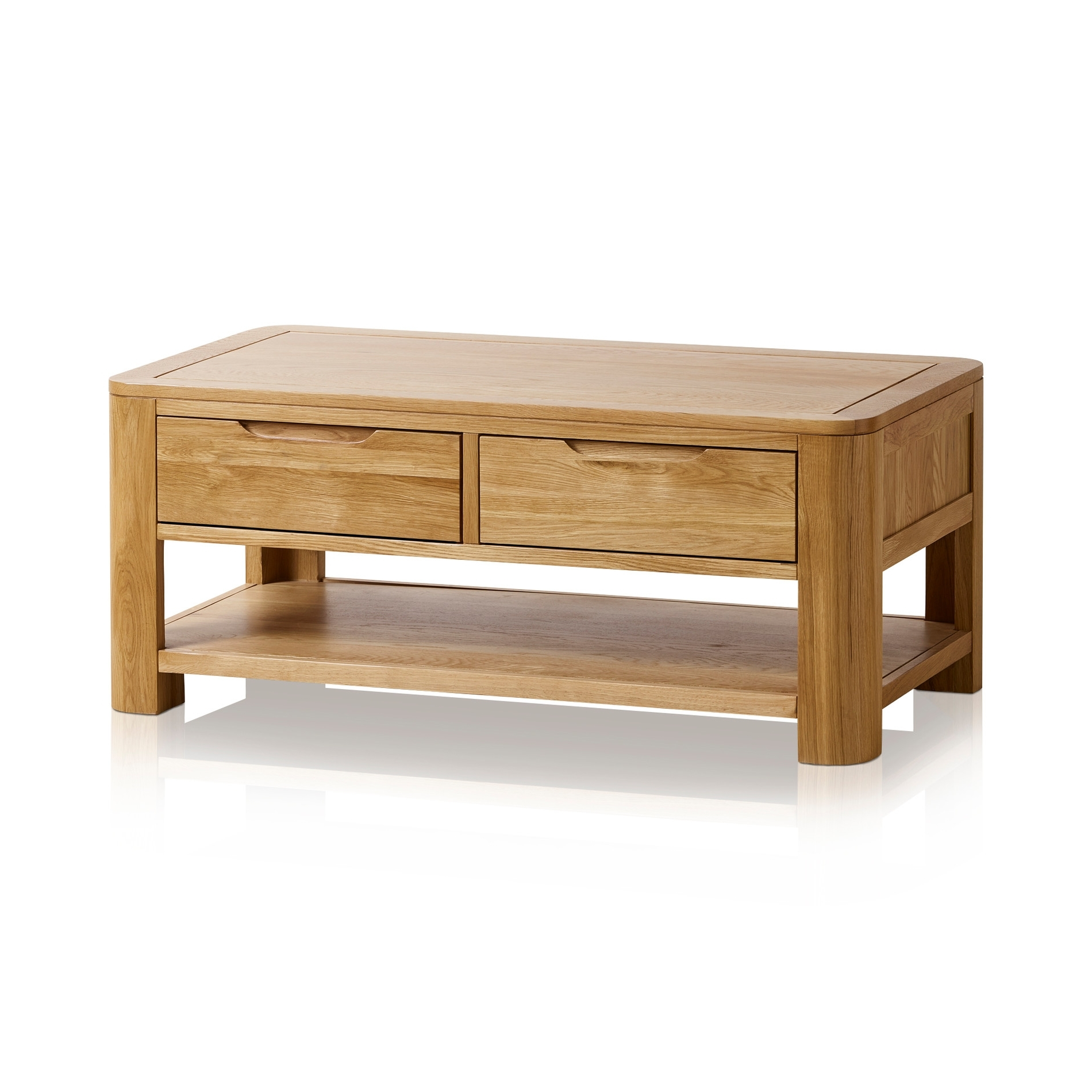 Romsey Coffee Table In Natural Solid Oak (View 4 of 20)