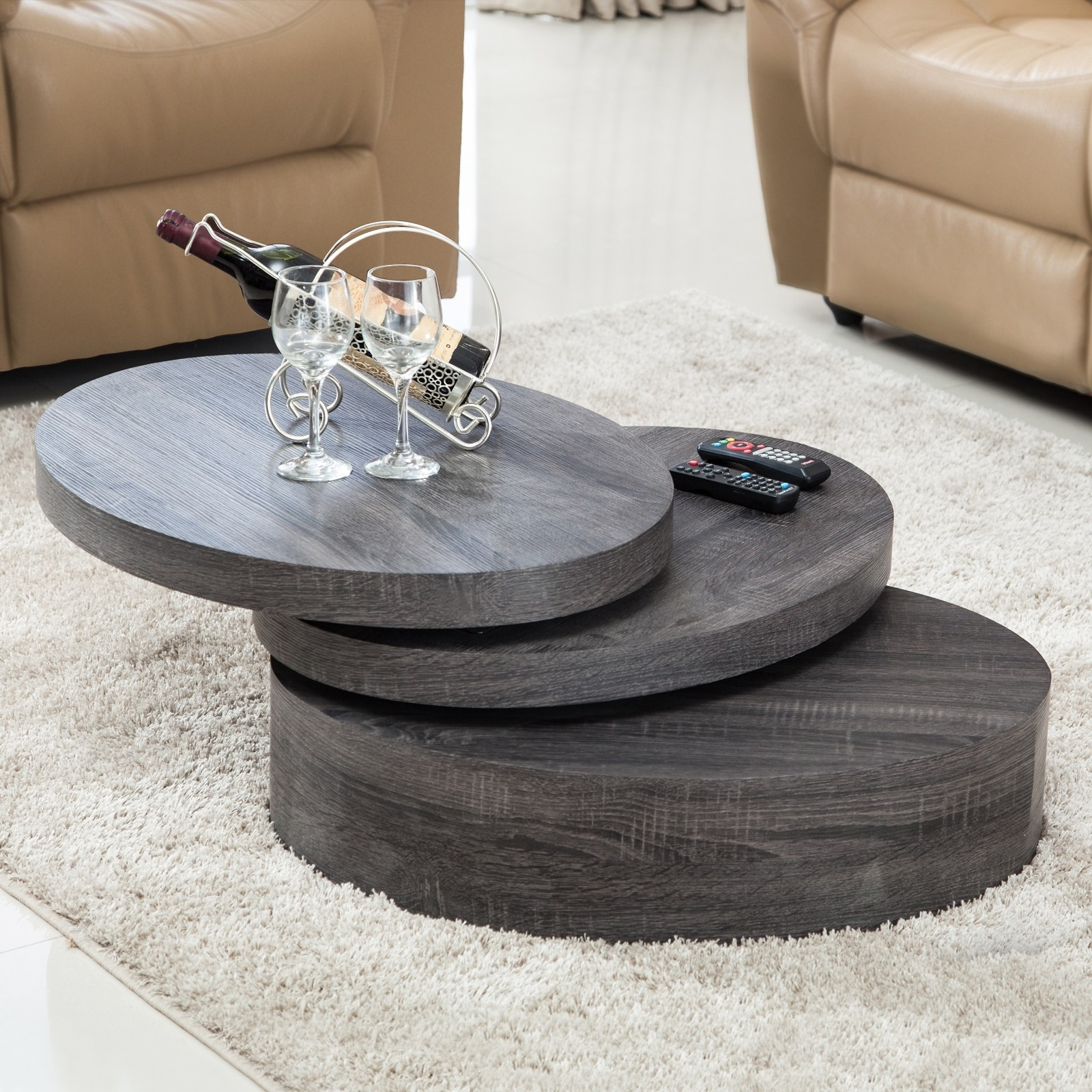 Rotating Coffee Tables – Tadalafilcanada With Latest Spin Rotating Coffee Tables (View 17 of 20)