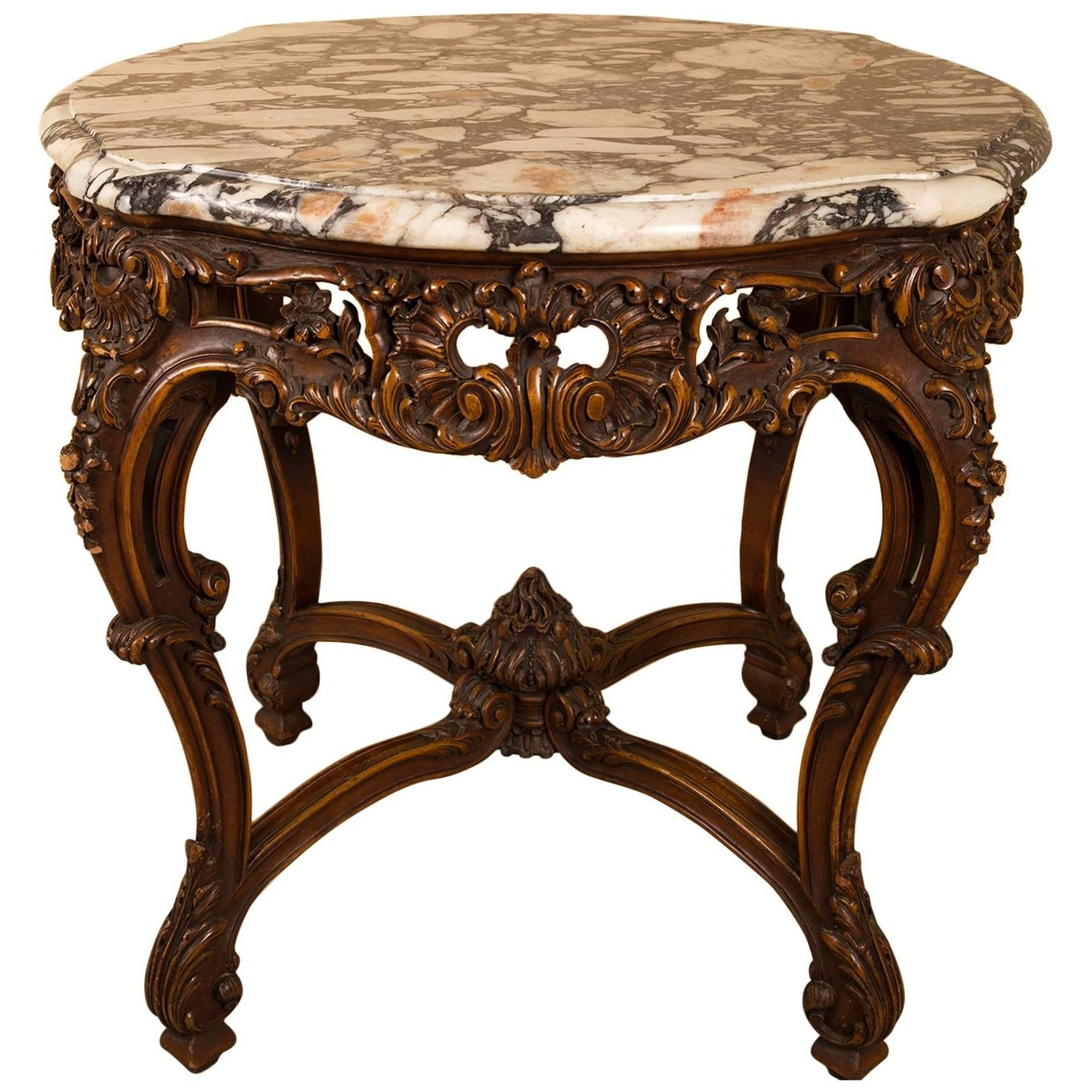 Round Carved Wood Coffee Table Carved Wood Round Coffee Table Pertaining To Newest Round Carved Wood Coffee Tables (View 7 of 20)
