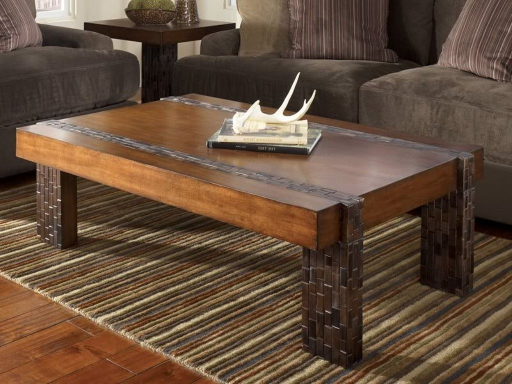 Rustic Coffee Tables For Kitchen (View 8 of 20)
