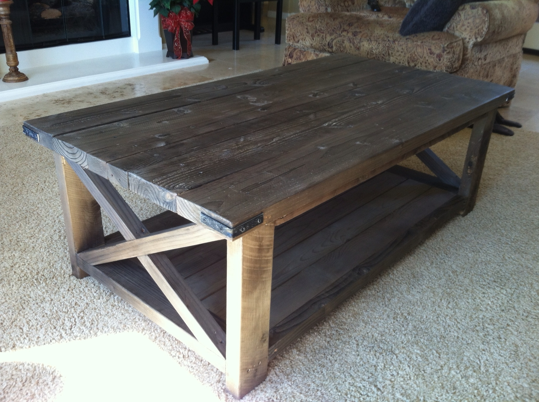 Rustic X Coffee Table – Diy Projects (View 6 of 20)