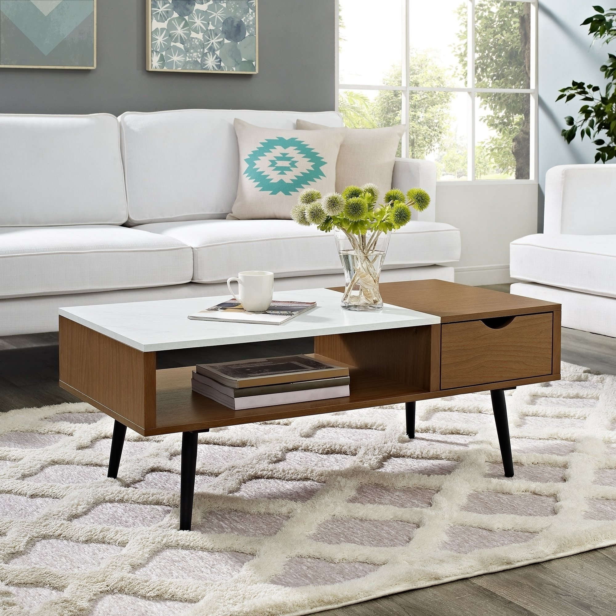 Featured Photo of Mid Century Modern Marble Coffee Tables