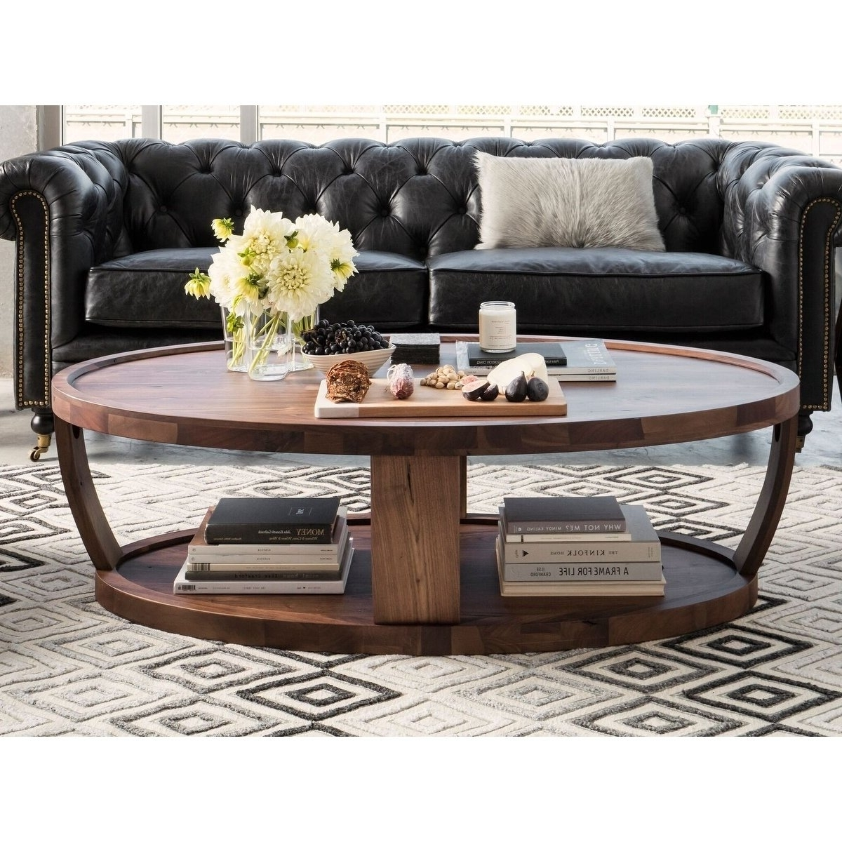 Shop Aurelle Home American Walnut Craftsman Coffee Table – On Sale With Widely Used Craftsman Cocktail Tables (View 17 of 20)
