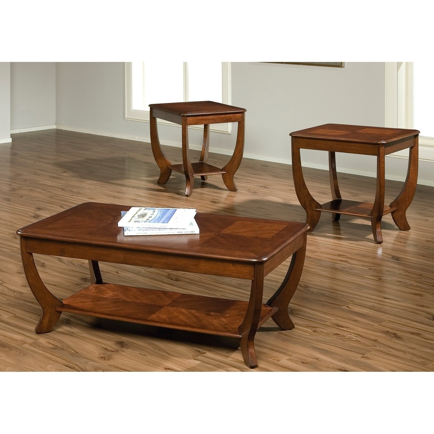 Shop Cherryville Autumn Blush Occasional Tables (Set Of 3) – Free With Regard To Trendy Autumn Cocktail Tables With Casters (View 13 of 20)