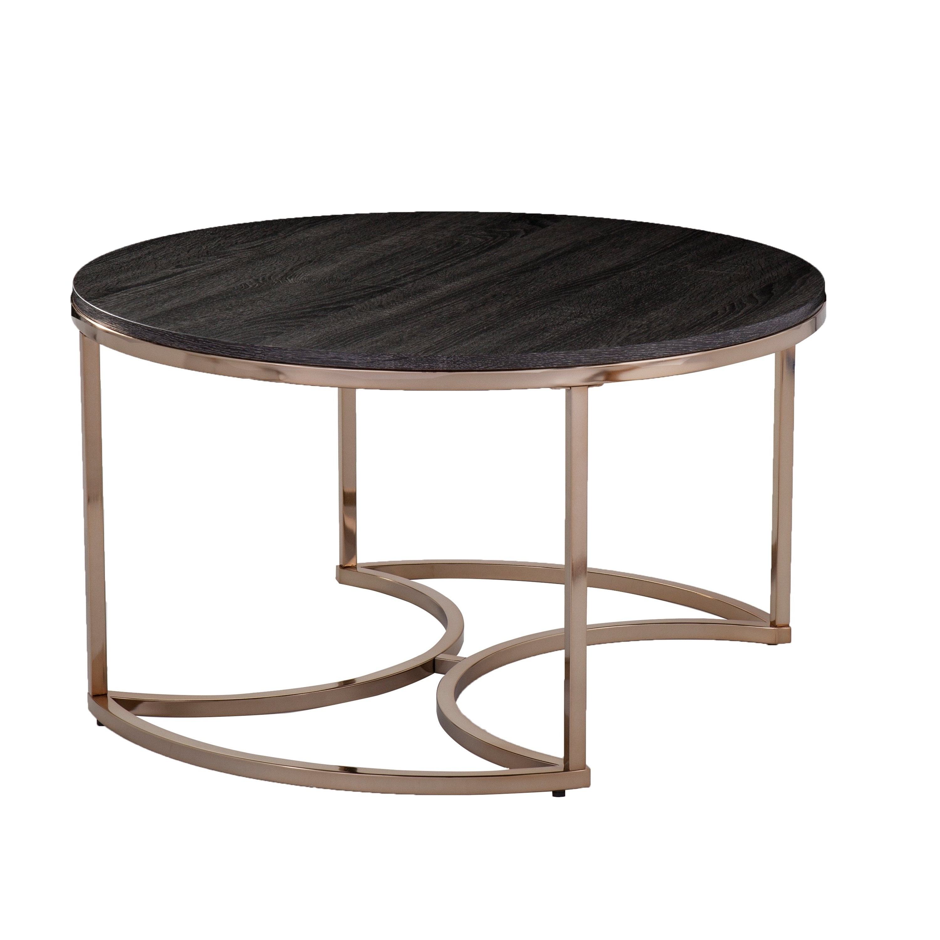 Shop Harper Blvd Belle Round Nesting Coffee Tables – 3Pc Set – Free Within Well Known Set Of Nesting Coffee Tables (View 15 of 20)