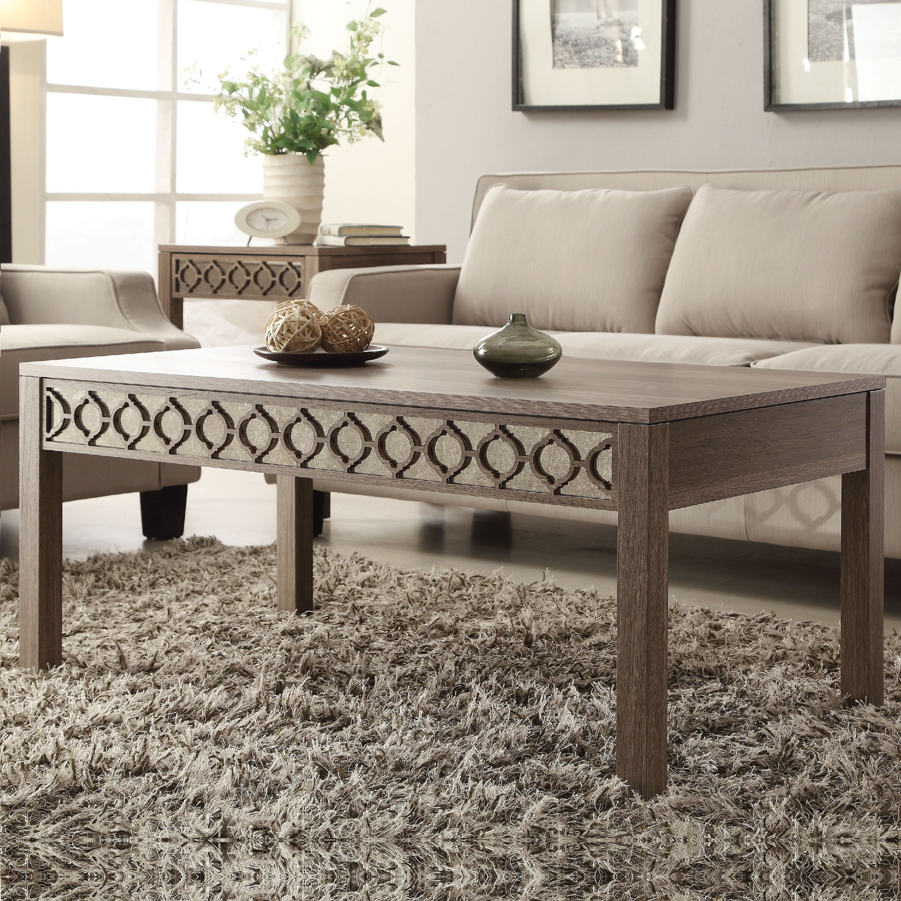 Shop Helena Sun Bleached Oak Coffee Table – Free Shipping Today Within Favorite Lassen Square Lift Top Cocktail Tables (View 16 of 20)