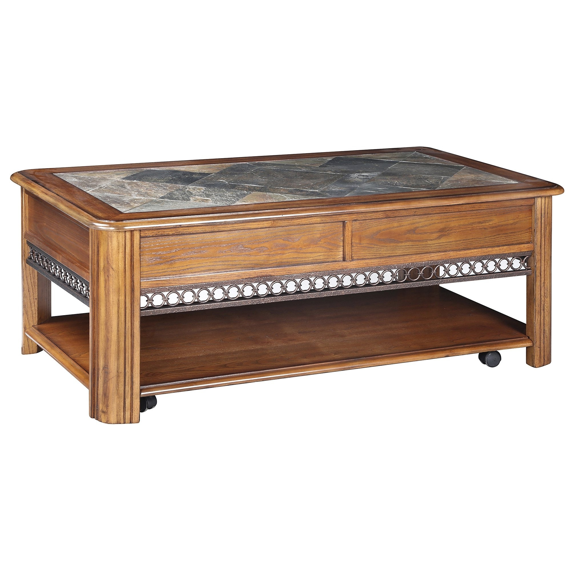 Shop Madison Rustic Warm Nutmeg Lift Top Coffee Table With Casters Regarding Well Liked Autumn Cocktail Tables With Casters (View 14 of 20)