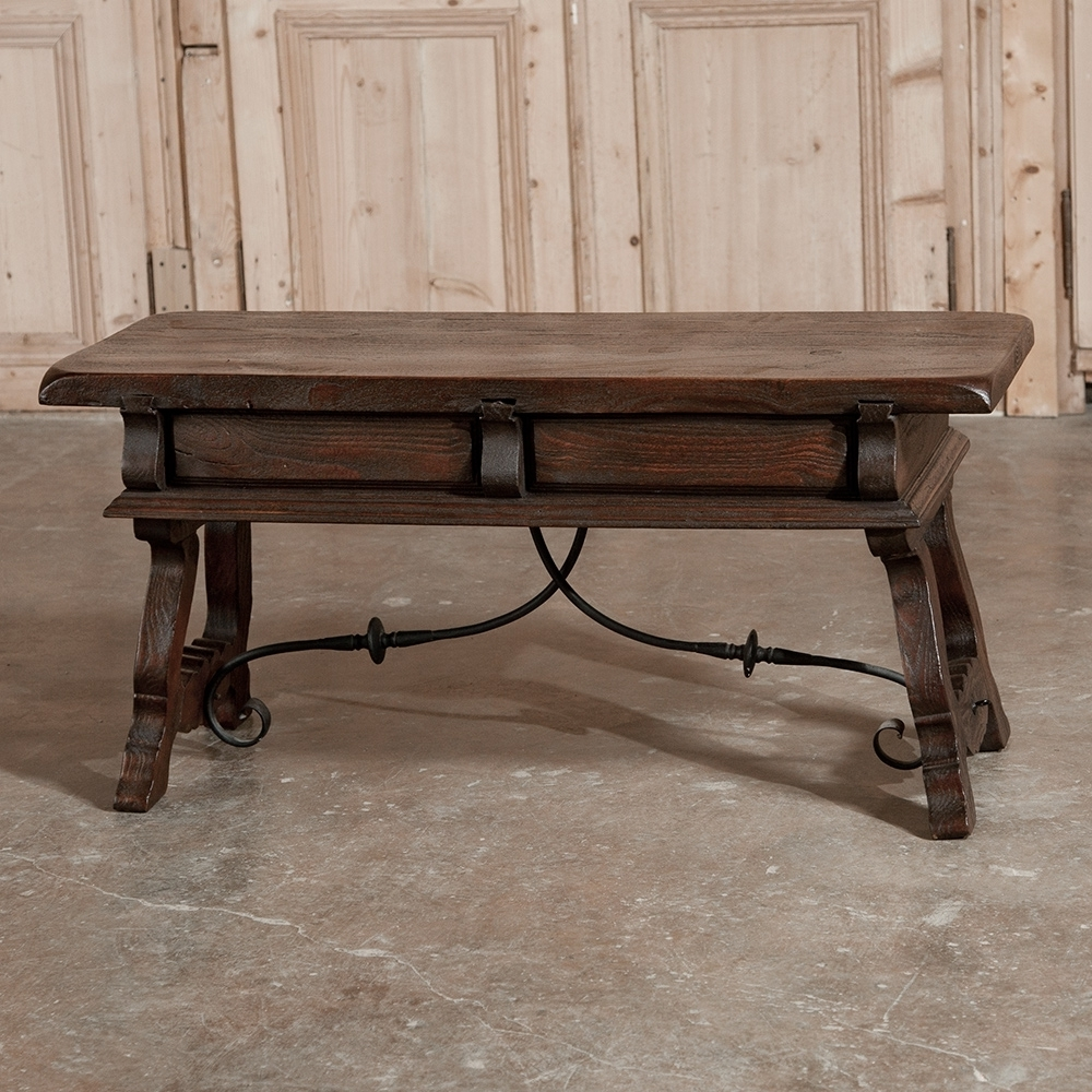 Spanish Coffee Table – Inessa Stewart's Antiques Throughout Trendy Spanish Coffee Tables (View 10 of 20)