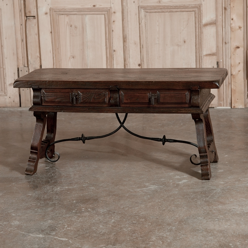 Spanish Coffee Table – Inessa Stewart's Antiques With Regard To Well Known Spanish Coffee Tables (View 2 of 20)