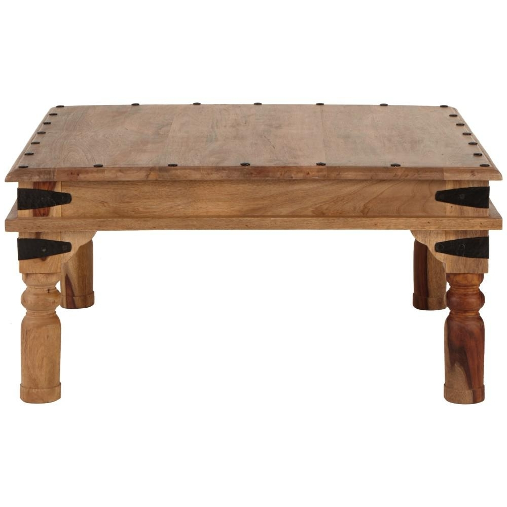 Square – Coffee Tables – Accent Tables – The Home Depot In Widely Used White Wash 2 Drawer/1 Door Coffee Tables (View 16 of 20)