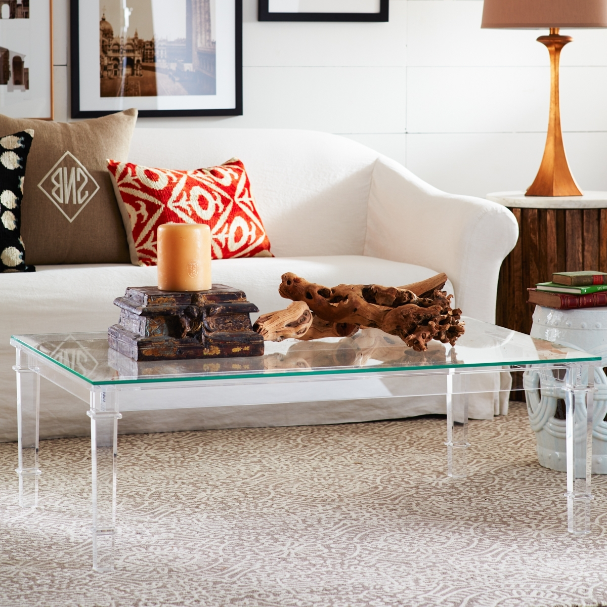 Featured Photo of Stately Acrylic Coffee Tables