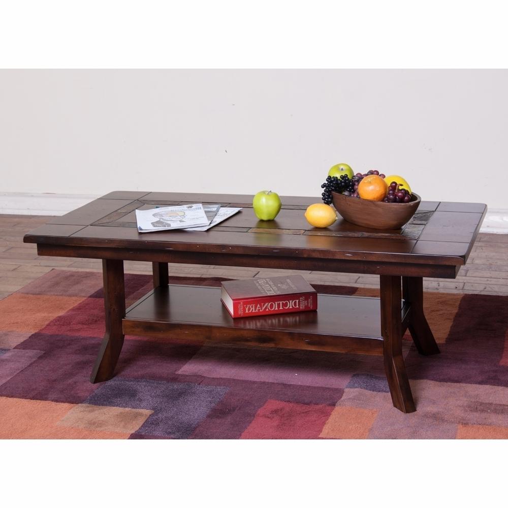Sunny Designs – Santa Fe Coffee Table – 3175Dc C Regarding Popular Santa Fe Coffee Tables (View 13 of 20)