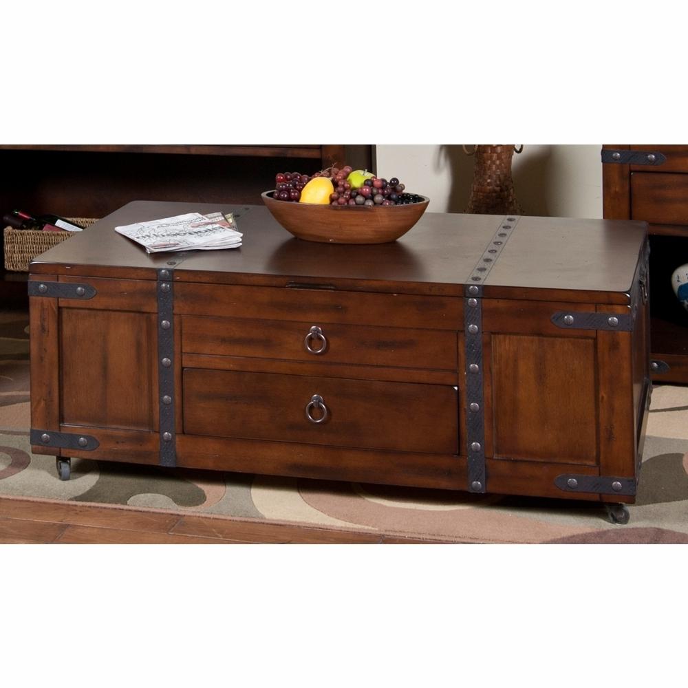 Sunny Designs – Santa Fe Coffee Table W/ Lift Top – 3211Dc C For Trendy Santa Fe Coffee Tables (View 14 of 20)