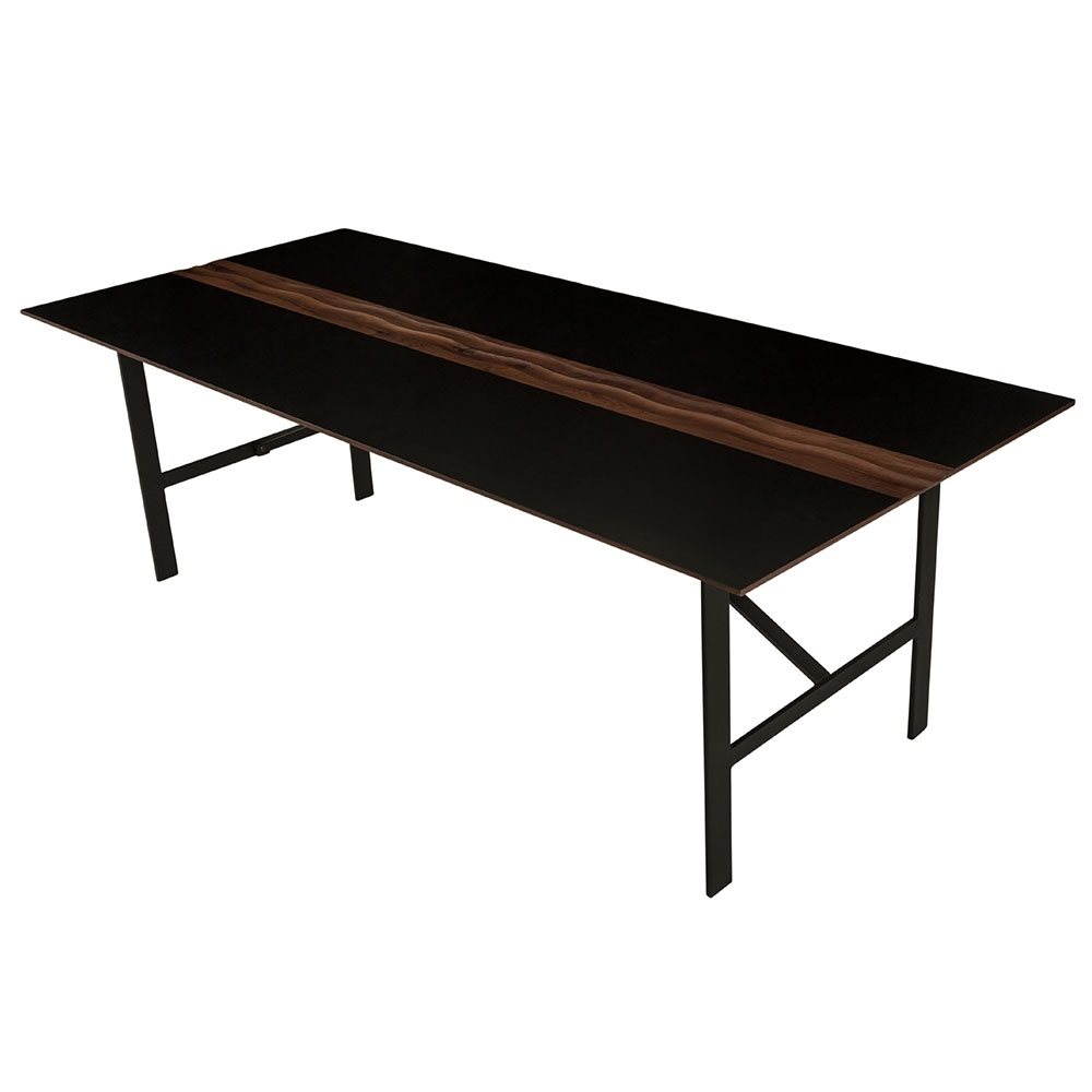 Swell Dining Table – Black – Midcentury (View 10 of 20)