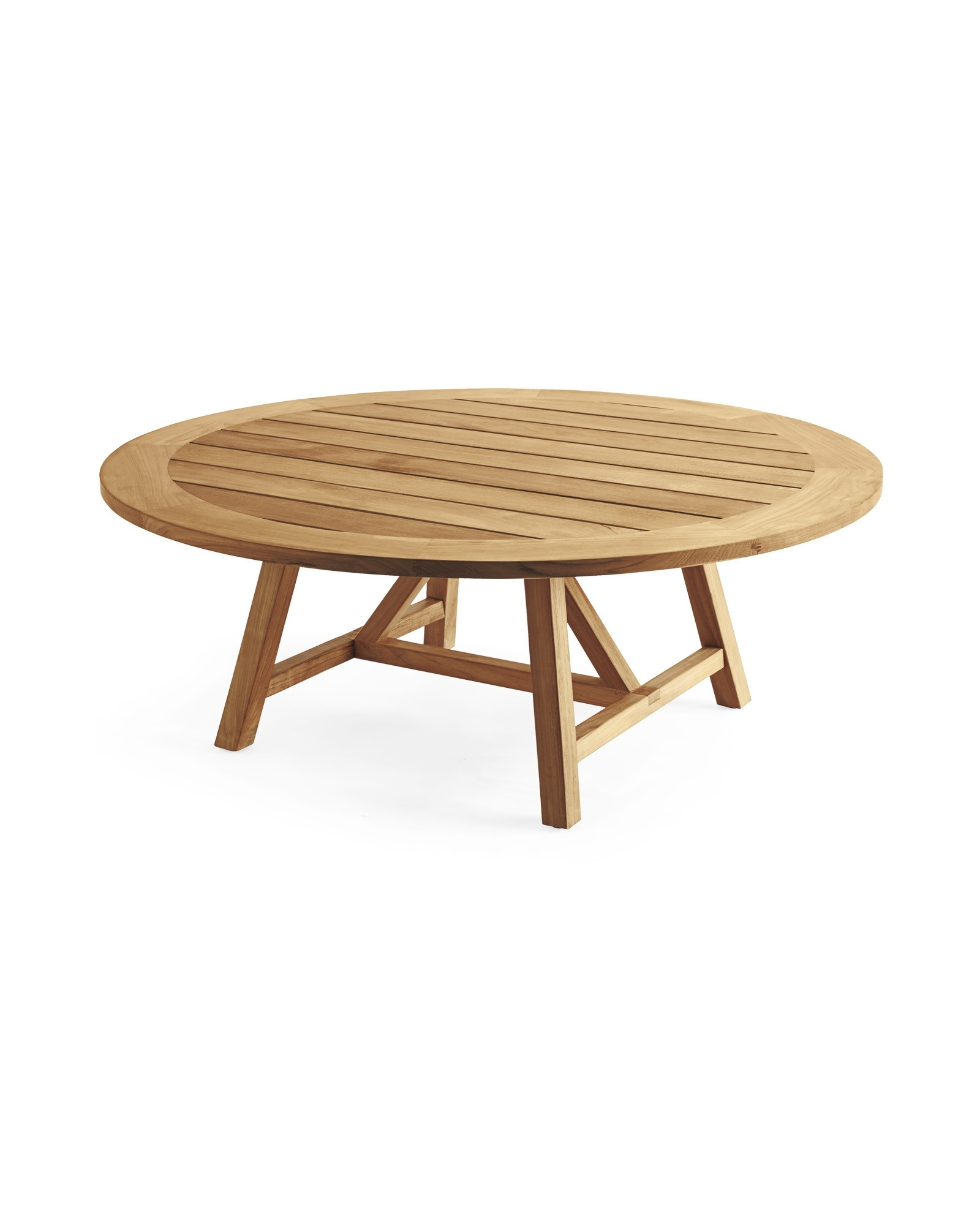 Teak Coffee Table Outdoor Fresh Round Teak Coffee Table Regarding 2017 Round Teak Coffee Tables (View 8 of 20)