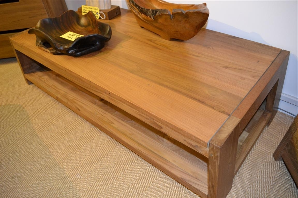 Teak Coffee Tables — The New Way Home Decor : Unique Teak Coffee Throughout Current Large Teak Coffee Tables (View 5 of 20)