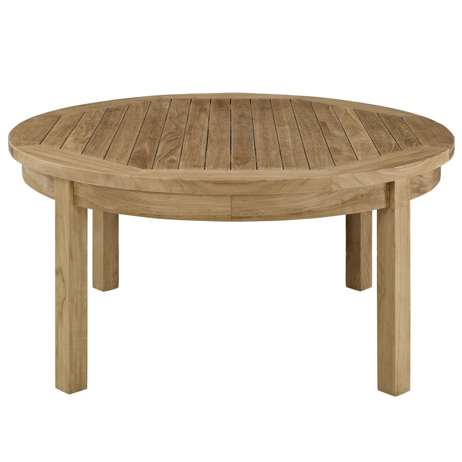 Teak Round Outdoor Table – Table Design Ideas With Regard To Most Recently Released Round Teak Coffee Tables (View 18 of 20)