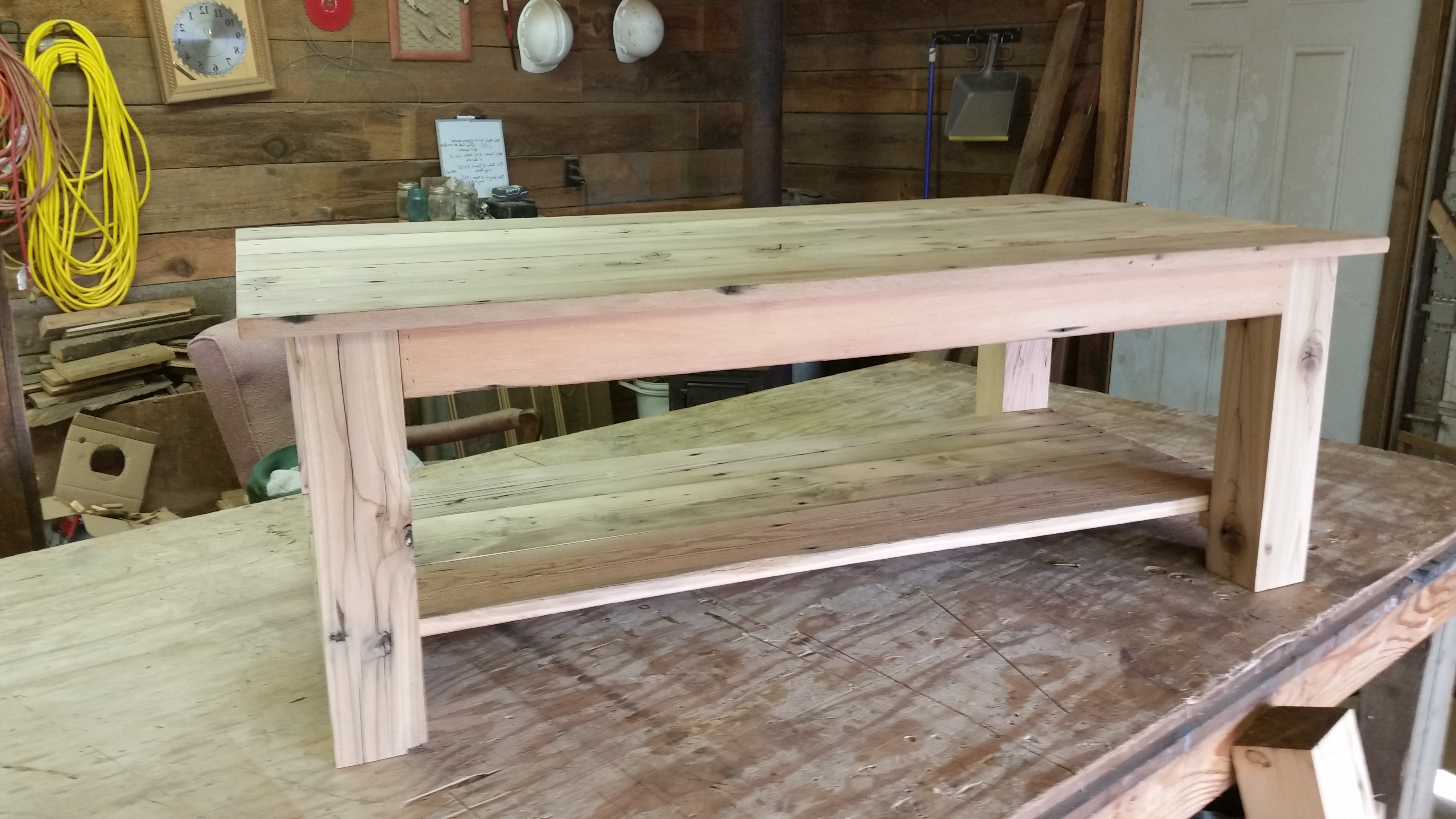 The Prairie Barn Throughout Well Known Vintage Wood Coffee Tables (View 11 of 20)