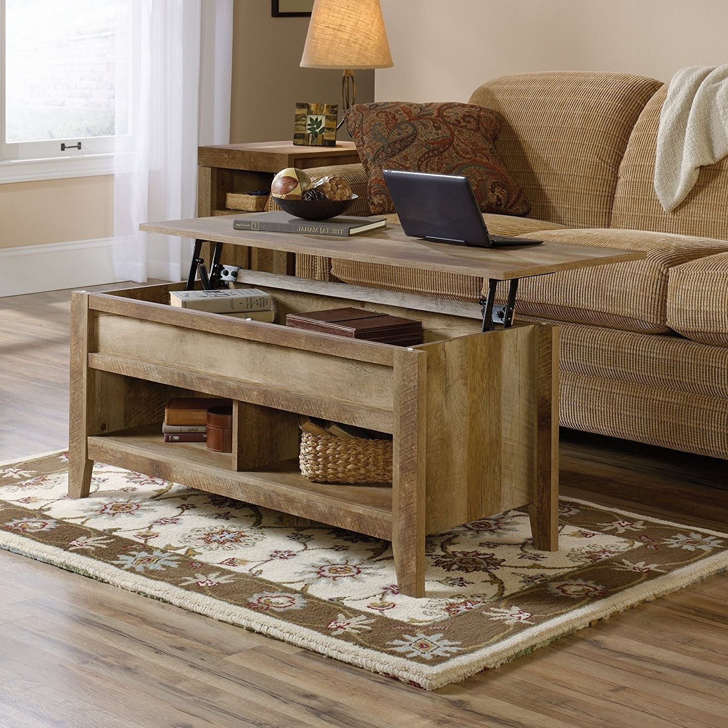 Top 10 Best Lift Top Coffee Tables In 2018 – Toptenreviewpro Pertaining To Popular Market Lift Top Cocktail Tables (View 19 of 20)