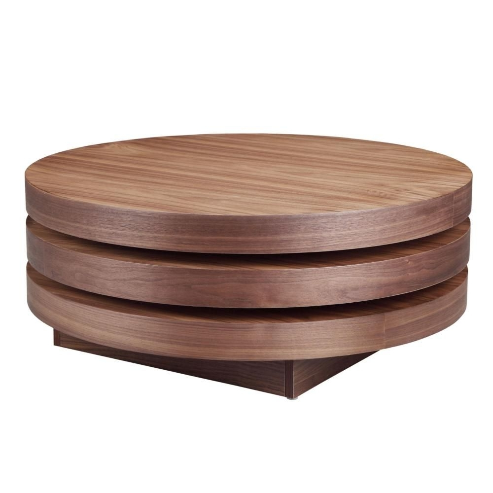 Torno Coffee Table Walnut (View 4 of 20)