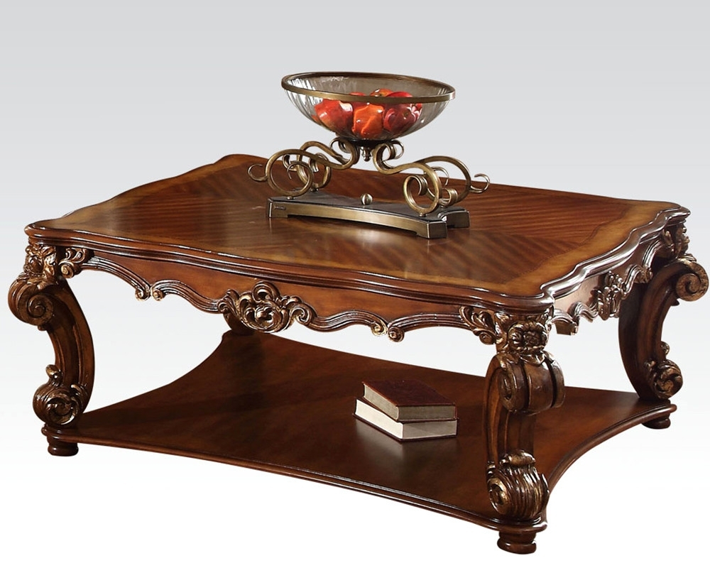 Traditional Coffee Table Sets Latest Photos Nor Square Vendome Throughout Recent Traditional Coffee Tables (View 17 of 20)