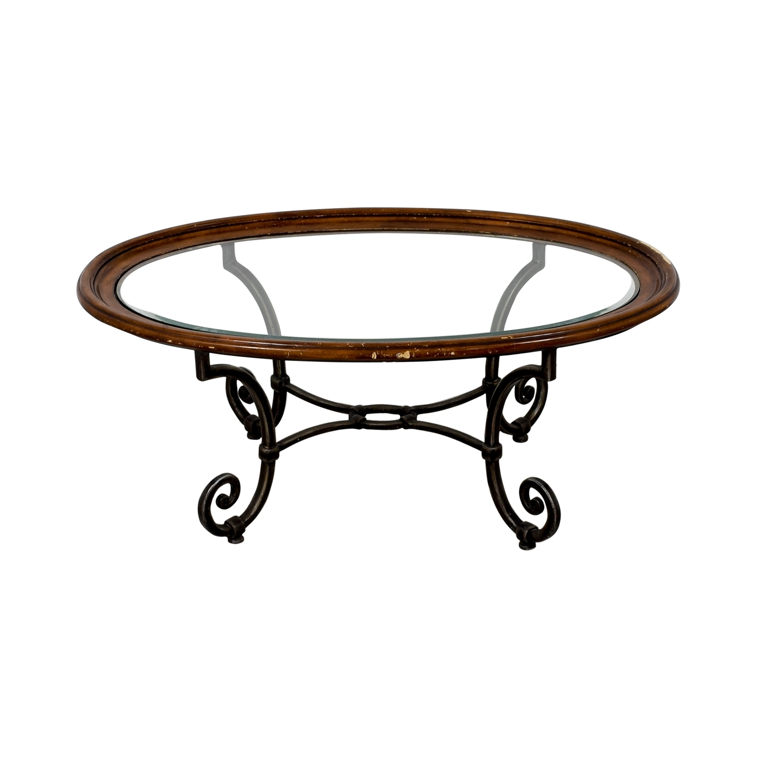 [%trendy Allen Cocktail Tables With 90% Off – Ethan Allen Ethan Allen Glass Coffee Table / Tables|90% Off – Ethan Allen Ethan Allen Glass Coffee Table / Tables With Regard To Well Known Allen Cocktail Tables%] (View 17 of 20)