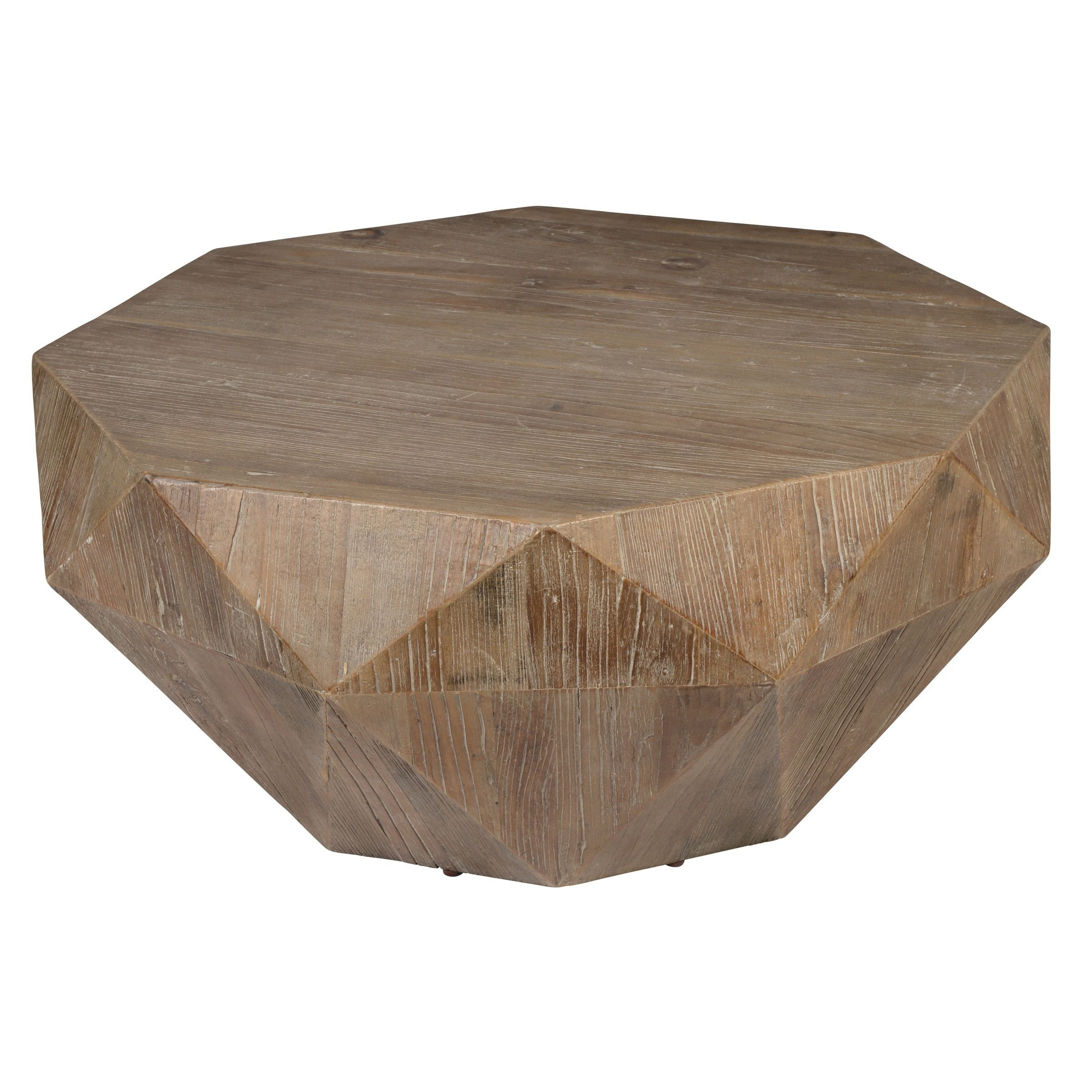 Trendy Casablanca Coffee Tables Intended For Kosas Home Transitional Casablanca Coffee Table (natural Geometric (View 2 of 20)