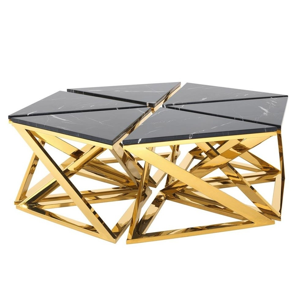 Trendy Cuff Hammered Gold Coffee Tables Regarding Coffee Table Gold – Table Design Ideas (View 11 of 20)