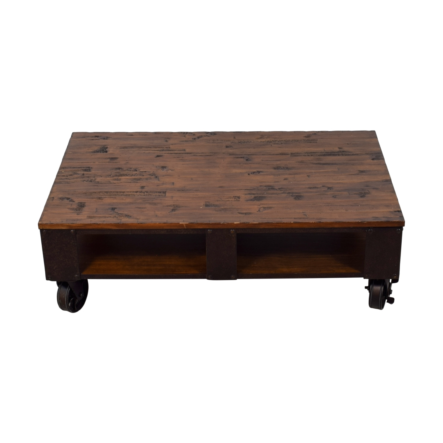 [%trendy Natural Pine Coffee Tables Throughout 59% Off – Magnussen Magnussen T1755 Pinebrook Distressed Natural|59% Off – Magnussen Magnussen T1755 Pinebrook Distressed Natural In Most Popular Natural Pine Coffee Tables%] (View 20 of 20)