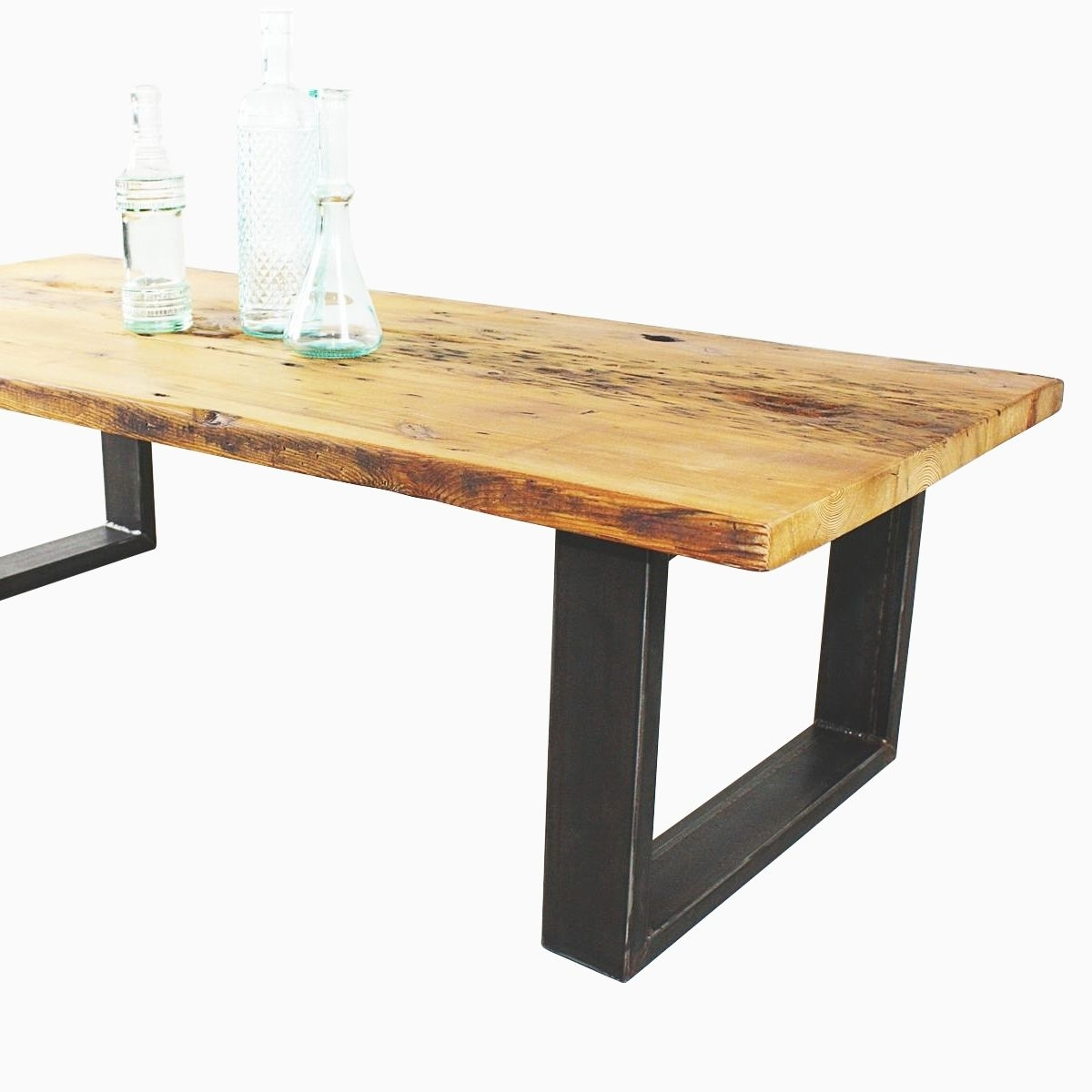 Trendy Reclaimed Pine & Iron Coffee Tables Intended For Buy A Hand Made Reclaimed Pine Coffee Table, Made To Order From What (View 3 of 20)