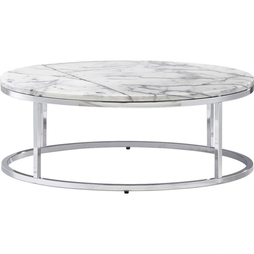Trendy Smart Large Round Marble Top Coffee Tables Regarding Home Design : Mirrored End Tables Elegant Smart Round Marble Top (View 17 of 20)