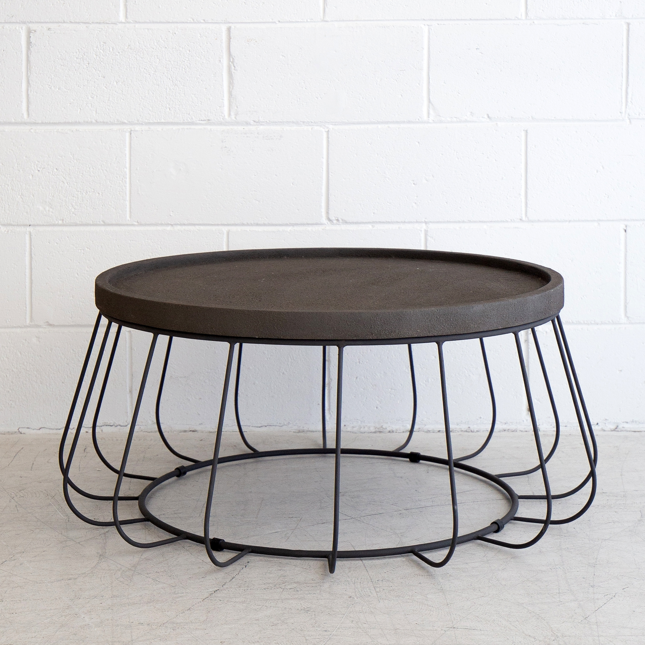 Trevi Wire Coffee Table – Black – The Beach Furniture Throughout 2018 Black Wire Coffee Tables (View 12 of 20)