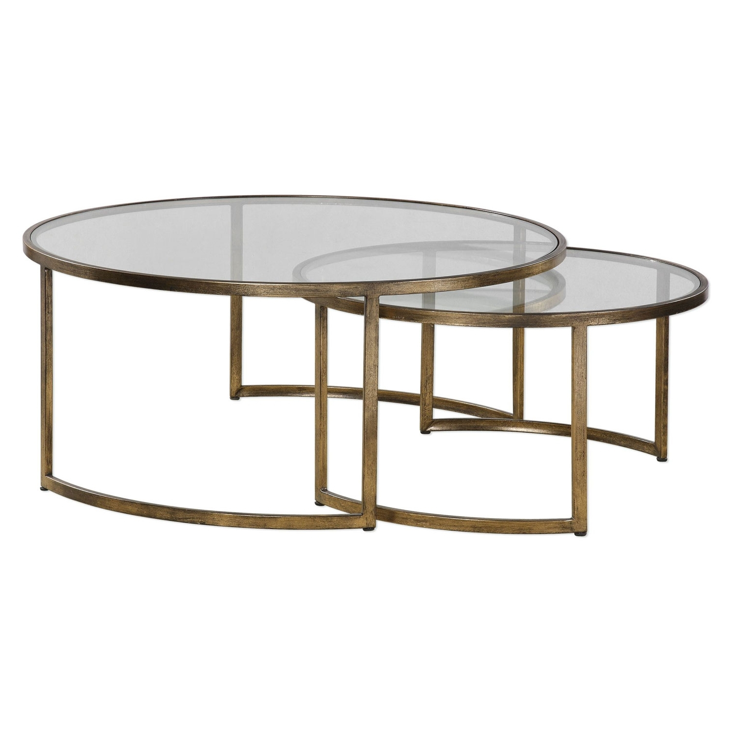 Uttermost Rhea Nested Coffee Tables, Set Of Two 24747 (Gallery 14 of 20)