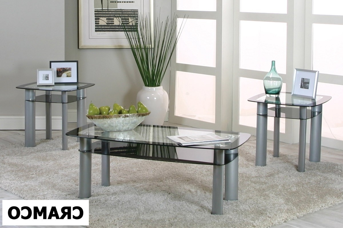 Valencia 3 Piece Table Set – Coffee Table Sets – Livingroom Furniture Pertaining To Preferred Valencia Cocktail Tables (View 11 of 20)