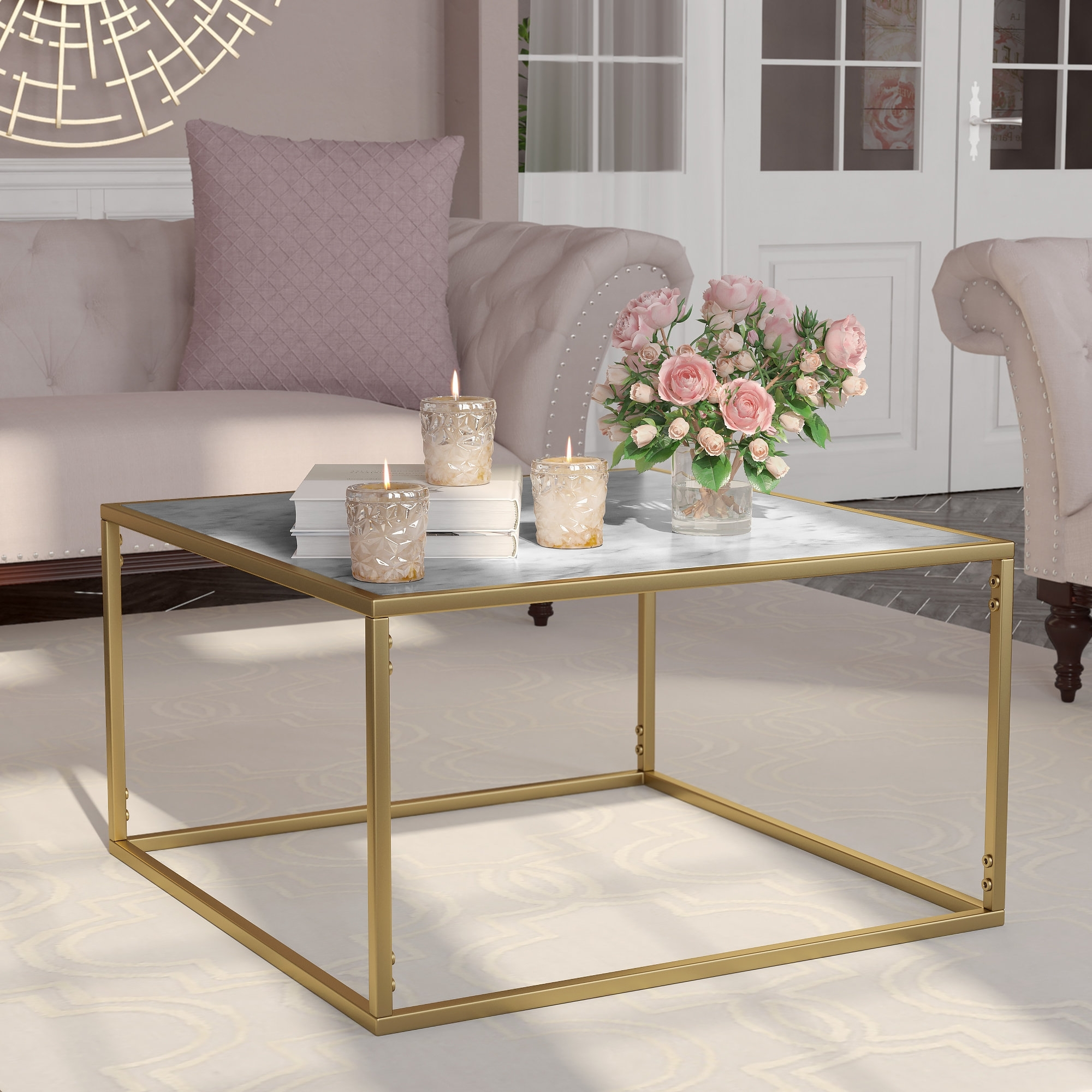 Wayfair Intended For Preferred 2 Tone Grey And White Marble Coffee Tables (View 19 of 20)