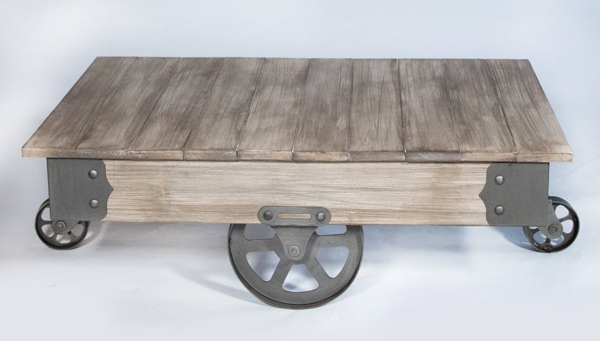 Wayfair Intended For Well Known Natural Wheel Coffee Tables (View 17 of 20)