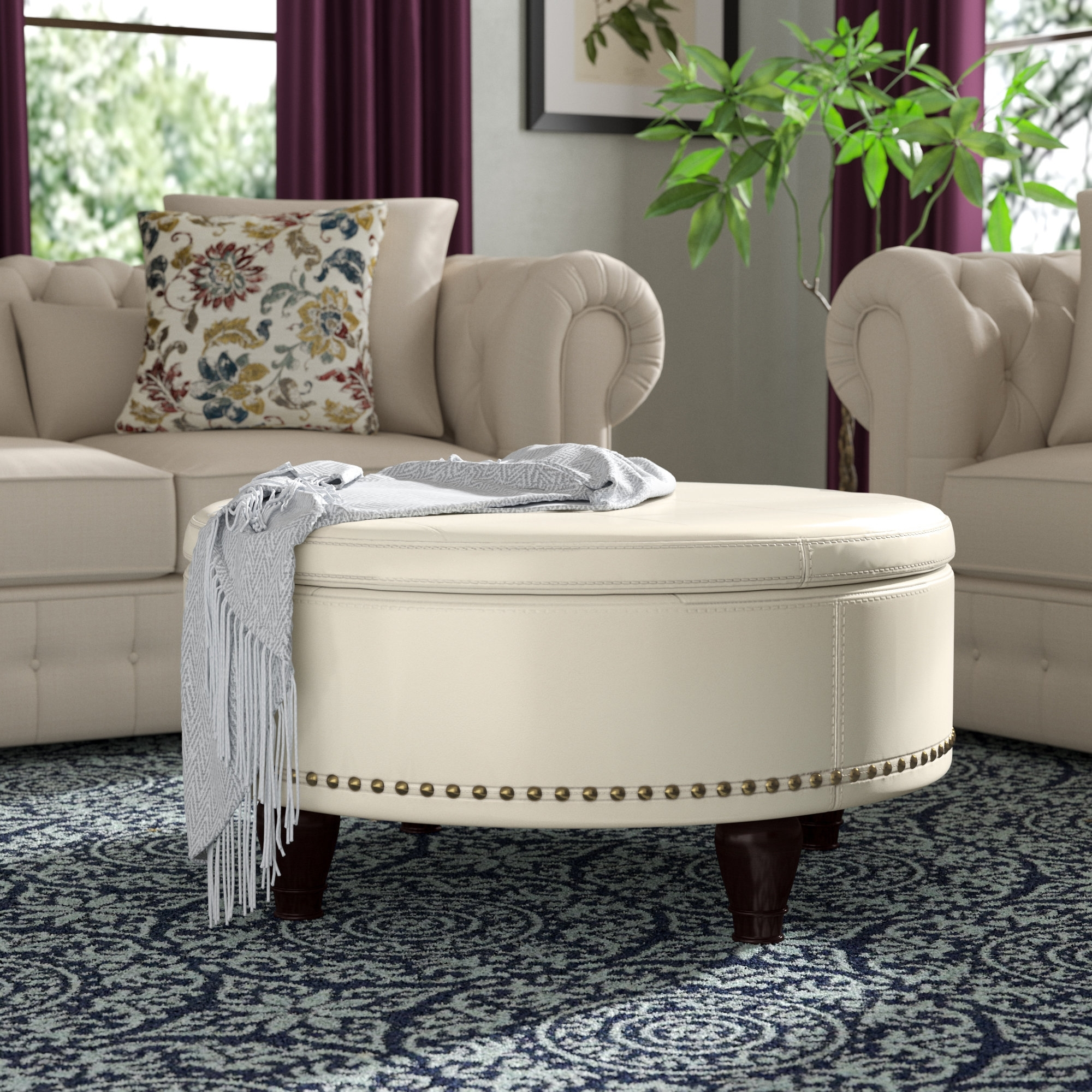 Wayfair Regarding Recent Mill Large Leather Coffee Tables (View 16 of 20)