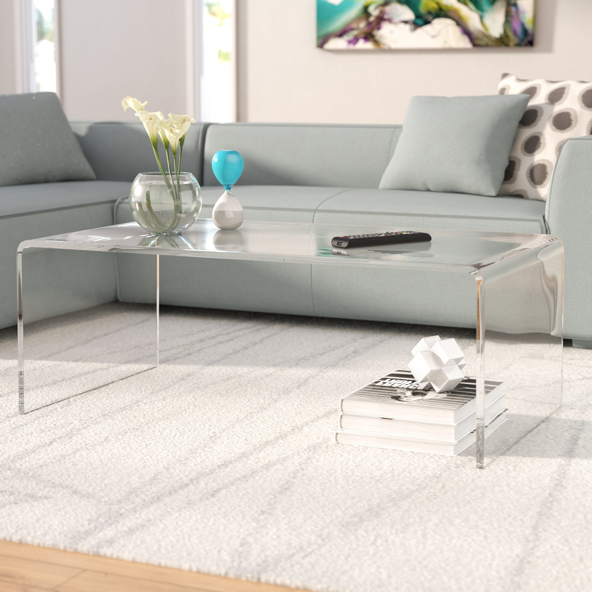 Wayfair Throughout Popular Peekaboo Acrylic Tall Coffee Tables (View 19 of 20)