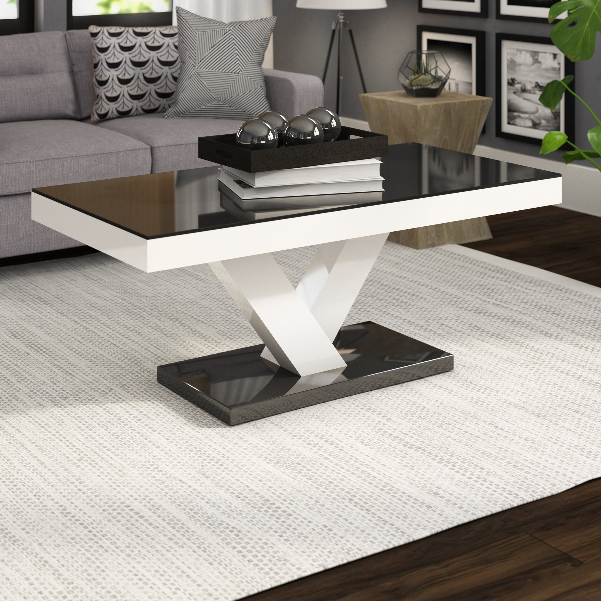 Wayfair With 2017 Stack Hi Gloss Wood Coffee Tables (View 18 of 20)