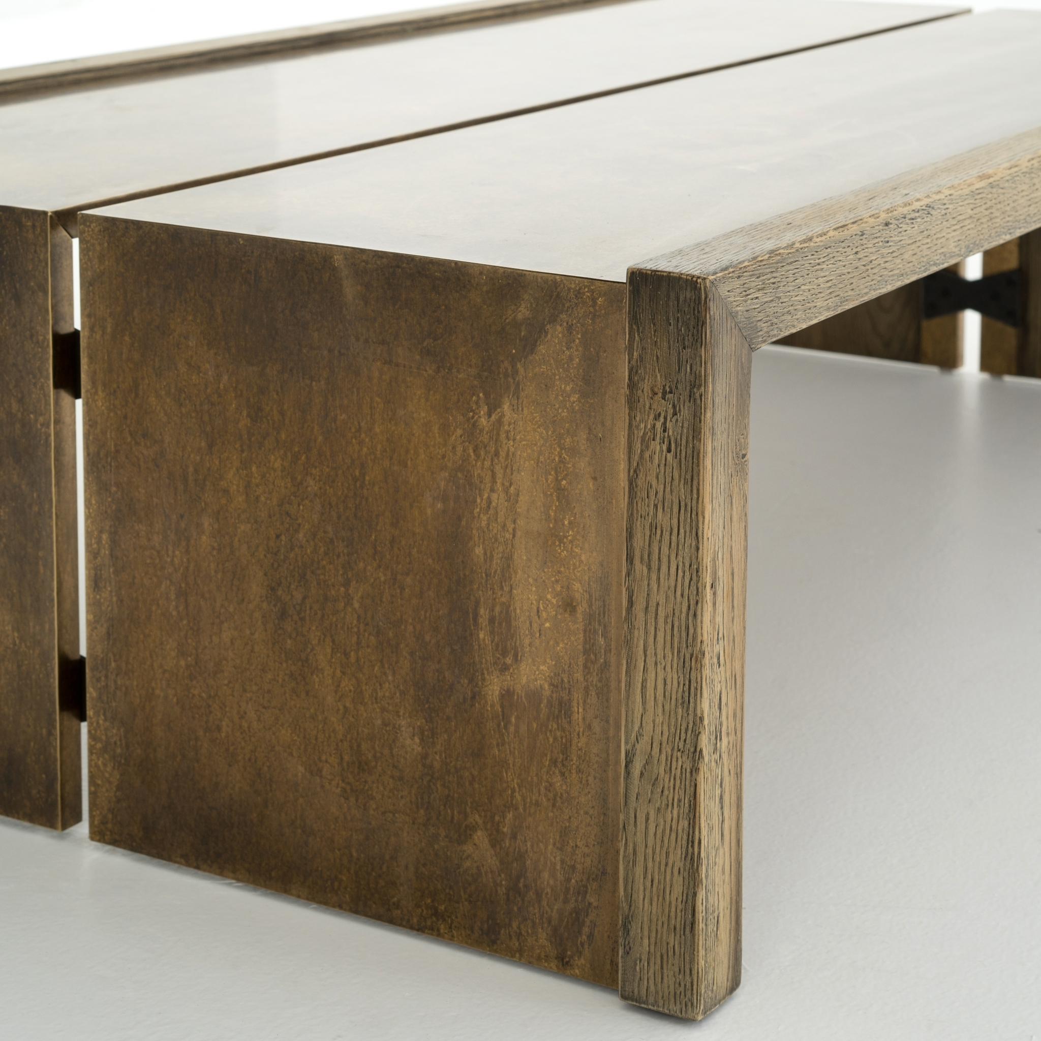 Weaver Coffee Table Antique Brass – Boulevard Urban Living With Latest Weaver Dark Rectangle Cocktail Tables (View 8 of 20)