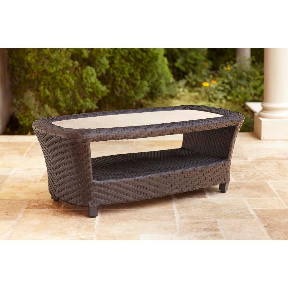 Well Known Jordan Cocktail Tables Inside Brown Jordan – Outdoor Coffee Tables – Patio Tables – The Home Depot (View 20 of 20)