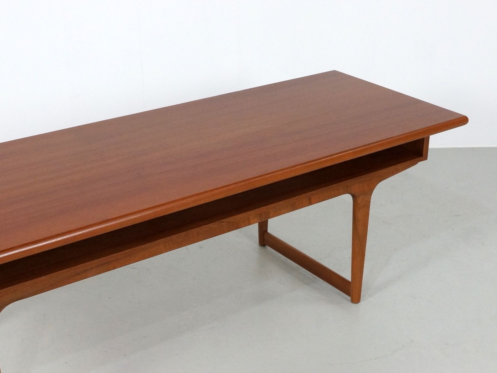 Well Known Large Teak Coffee Tables For Large Teak Danish Coffee Table, 1960s For Sale At Pamono (View 3 of 20)
