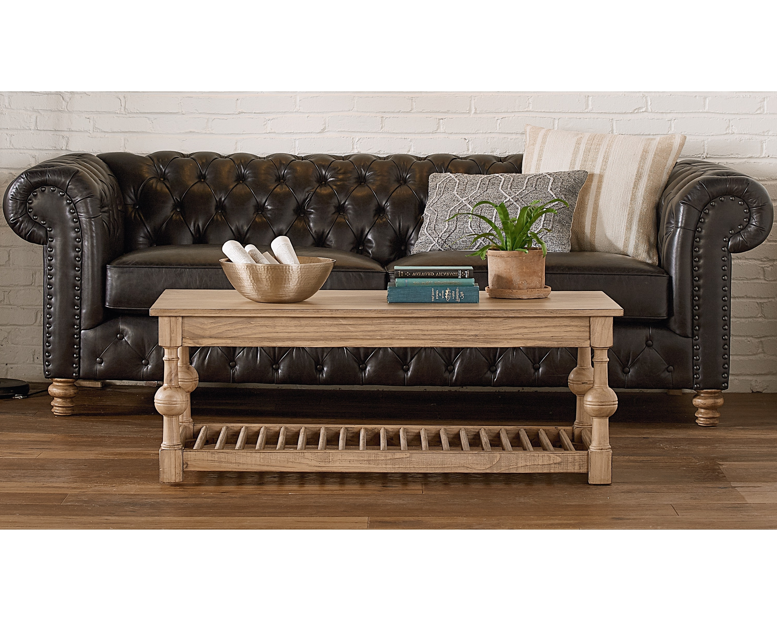 Well Known Magnolia Home Louver Cocktail Tables Inside Louver Coffee Table – Magnolia Home (View 19 of 20)