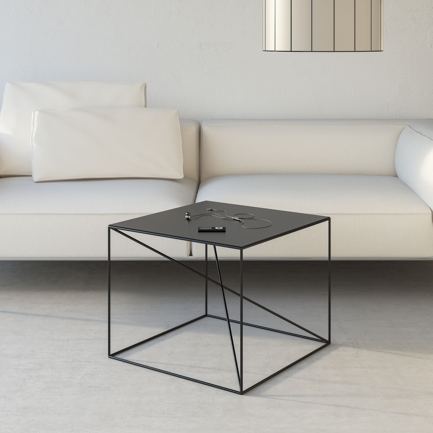 Well Known Minimalist Coffee Tables In Minimalist Design Coffee Table / Powder Coated Steel / Rectangular (View 17 of 20)