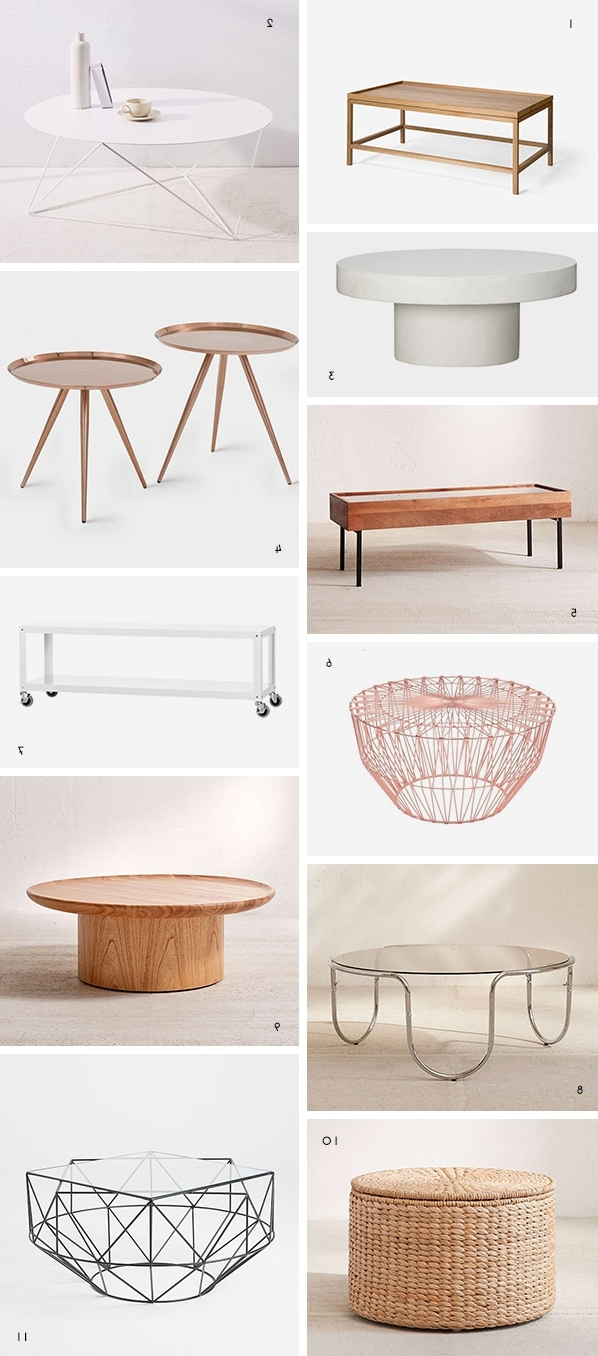 Well Known Shroom Coffee Tables Throughout But First Coffee (tables): The Coolest Coffee Tables Under $ (View 3 of 20)