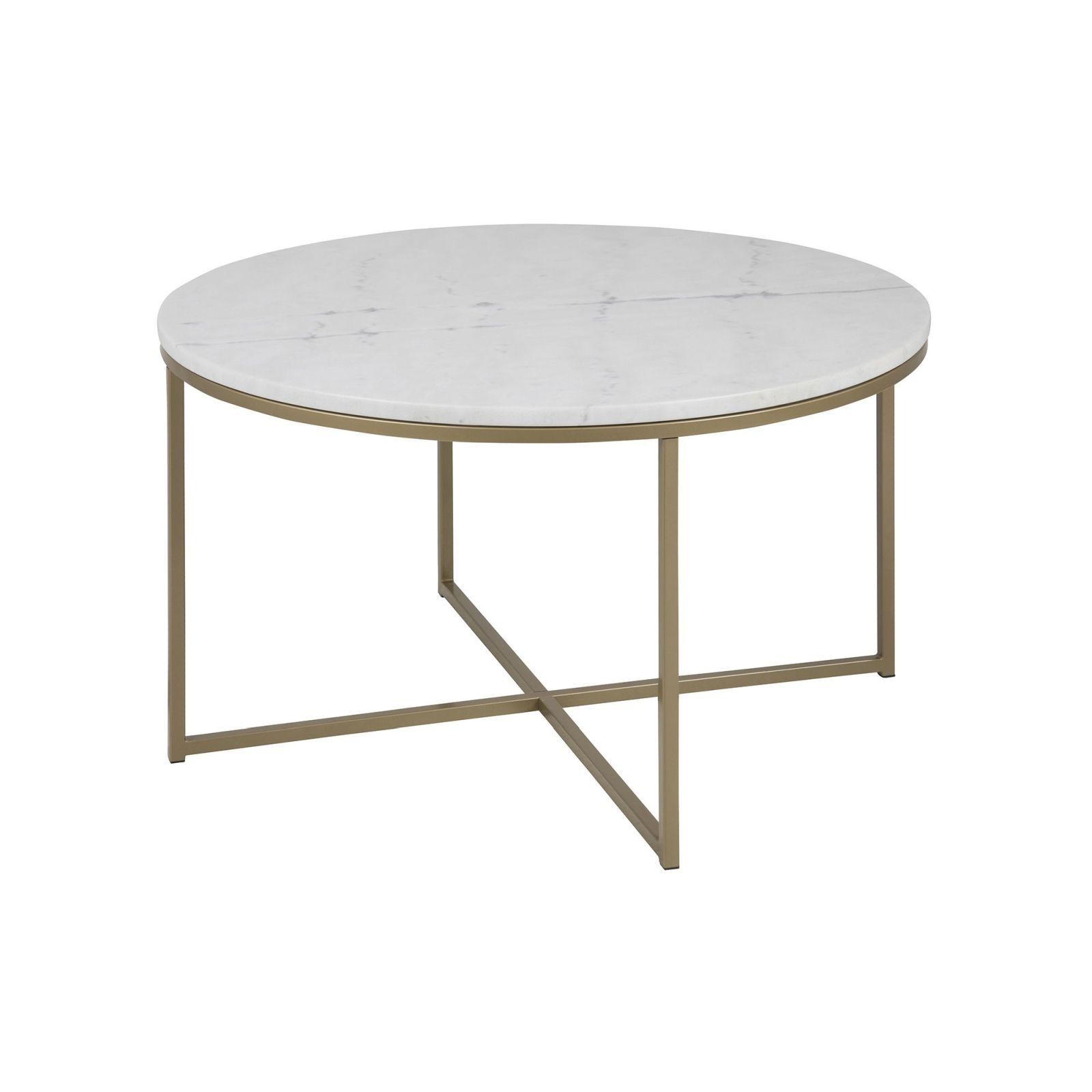 Well Known Smart Round Marble Brass Coffee Tables Pertaining To Cade Coffee Table Round (Brass) – Tables – Furniture – Furniture (View 20 of 20)