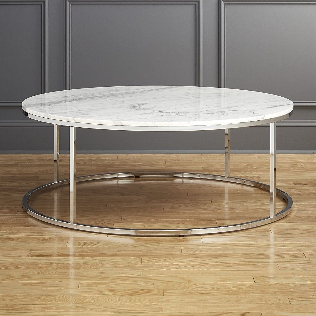Well Known Smart Round Marble Top Coffee Tables For Smartmarblerdcoffeetbllgshf17 1X (View 20 of 20)
