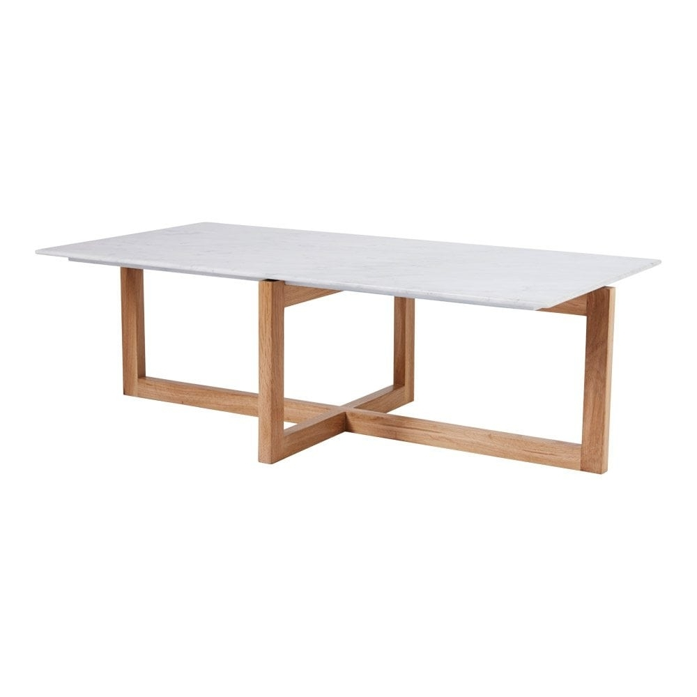 Well Known Suspend Ii Marble And Wood Coffee Tables Intended For Suspend Ii Marble And Wood Coffee Table Reviews Cb2 Tables (View 10 of 20)