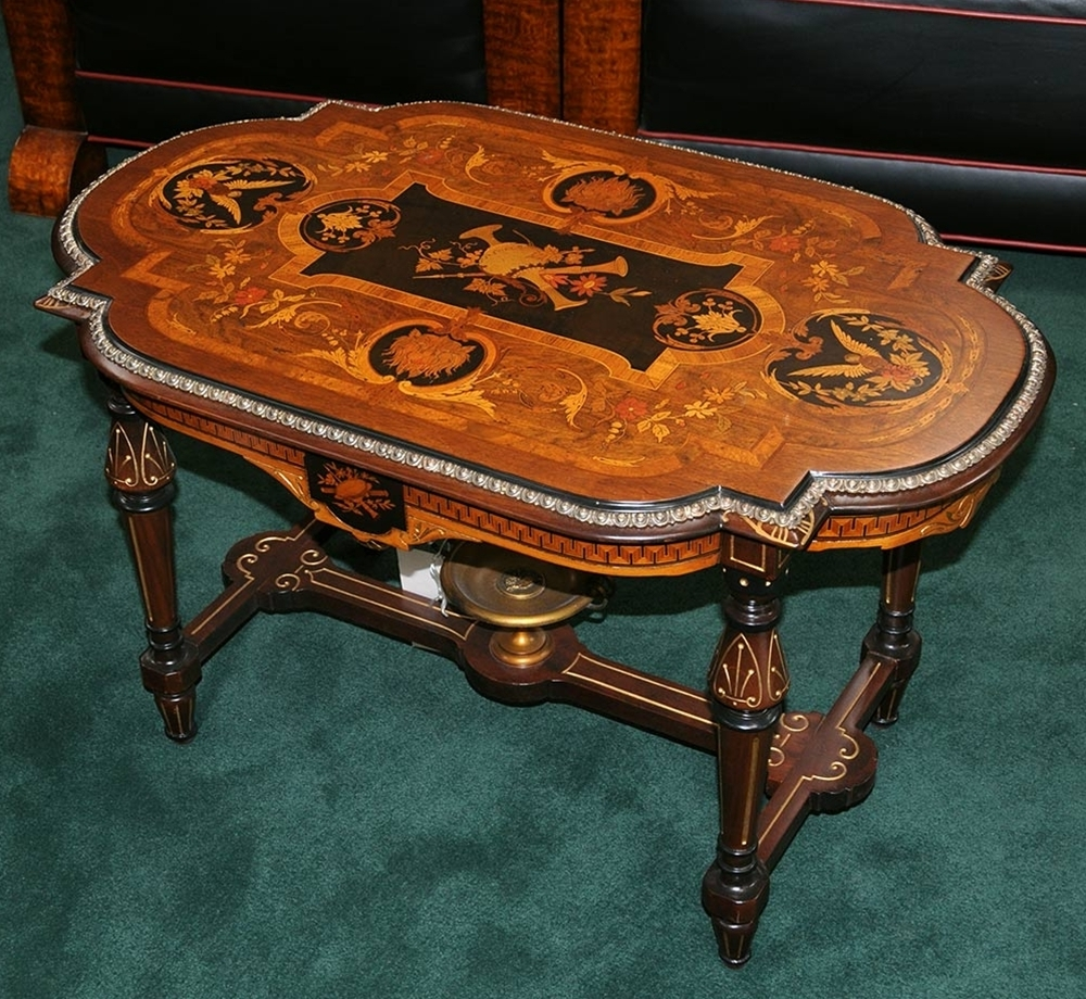 Well Liked Antiqued Art Deco Coffee Tables Intended For Antiques (View 11 of 20)